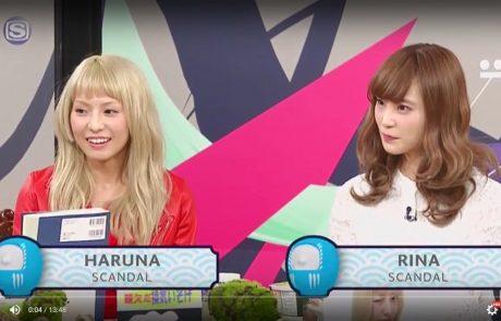 HARUNA & RINA dans l'émission Nanda Kore TV