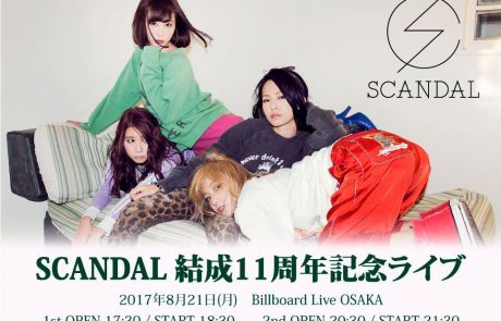 {#Concert} SCANDAL 11th Anniversary