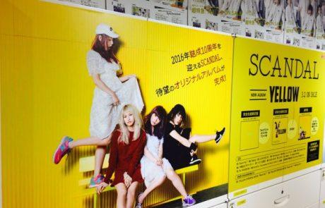 Sortie de YELLOW au Japon