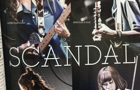 {#Magazine} SCANDAL dans le GIGS de Février