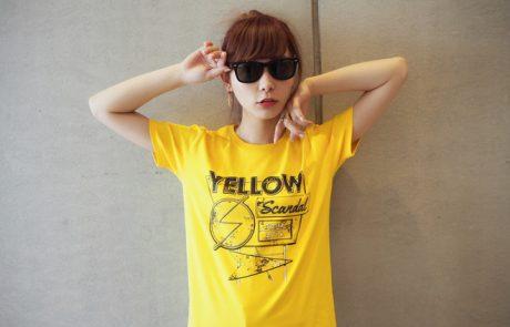 {#Blog} YELLOW Tシャツ