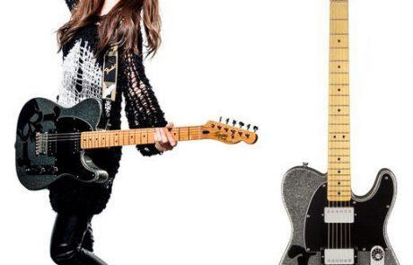 Mise en vente des Guitares de SCANDAL !
