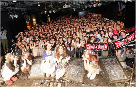 SCANDAL on J-WAVE [SMILE ON SUNDAY] (13th Sep) – TOWER RECORDS 'SISTERS' Special Live