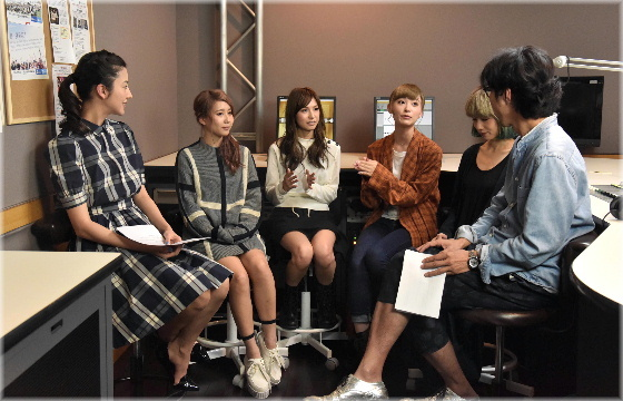 SCANDAL on InterFM「Amaze The World!!」(25/10/2015)