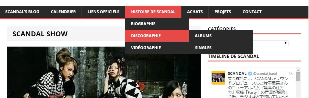 Nouveautés sur le site (Partie Discographie/Vidéographie)