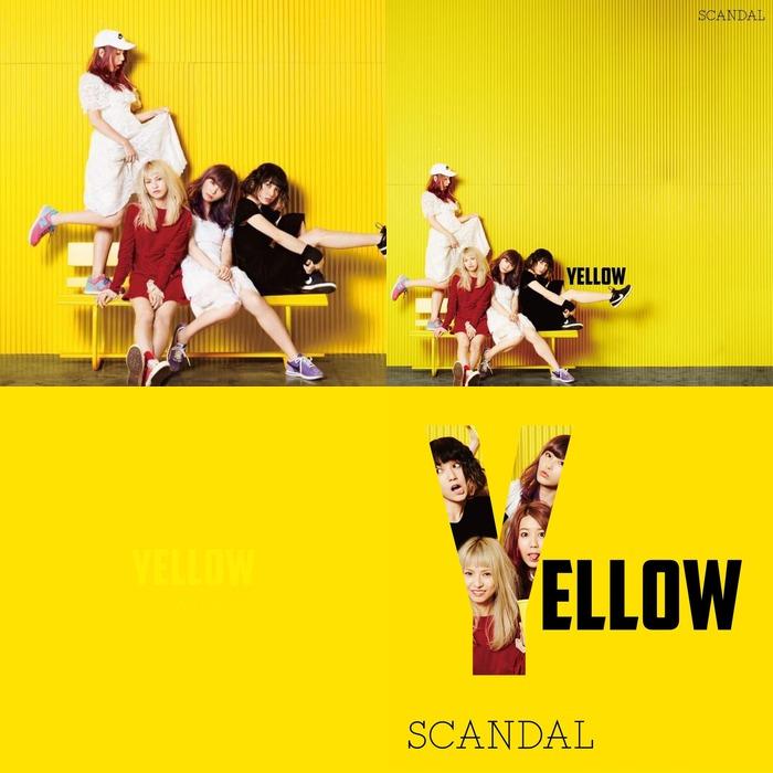 Sortie des covers pour Yellow