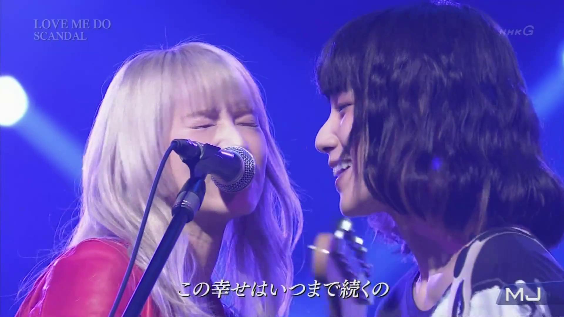 SCANDAL dans l'émission Music Japan
