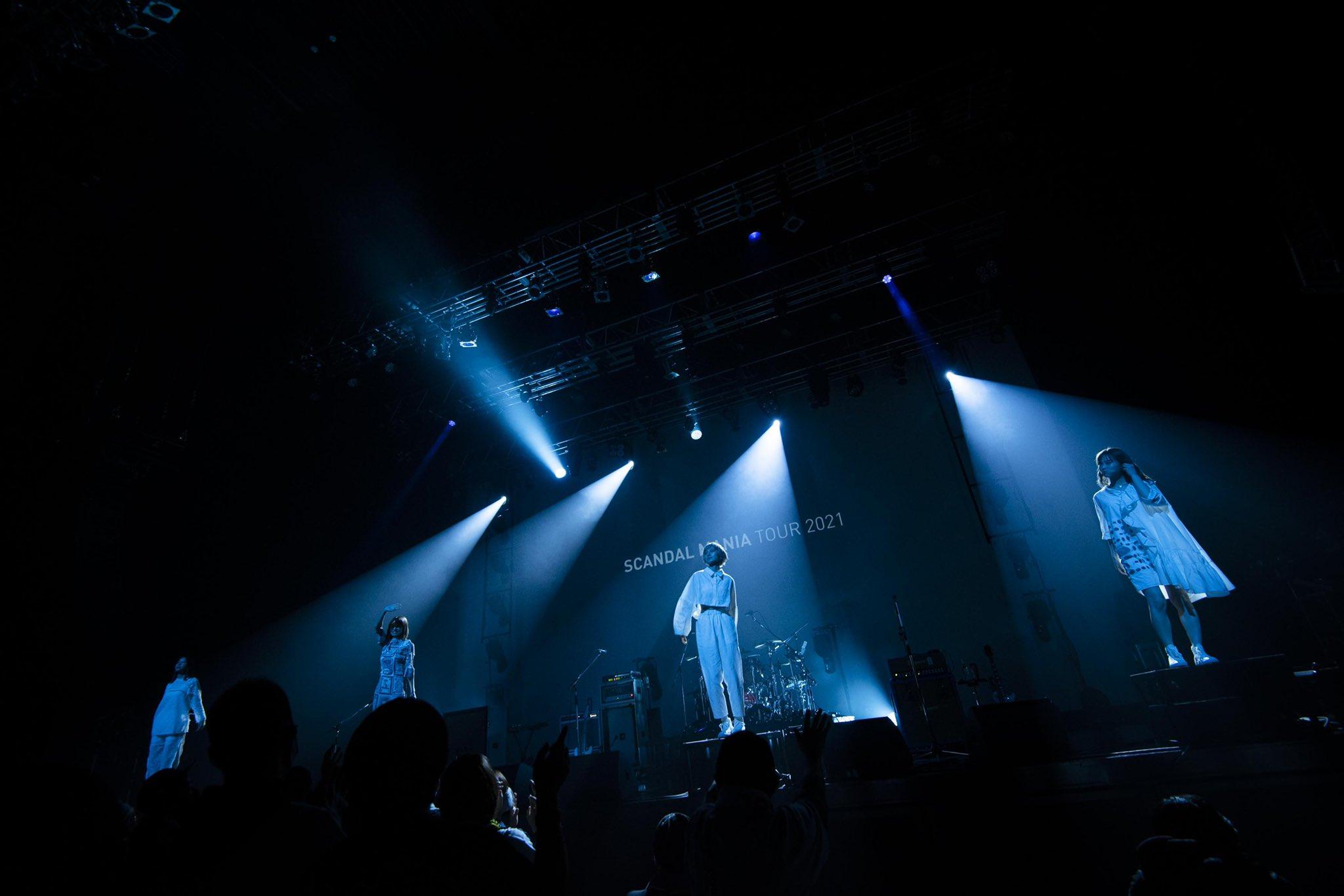 Compte rendu de la tournée «SCANDAL MANIA TOUR 2021 request» et nouvelles croustillantes