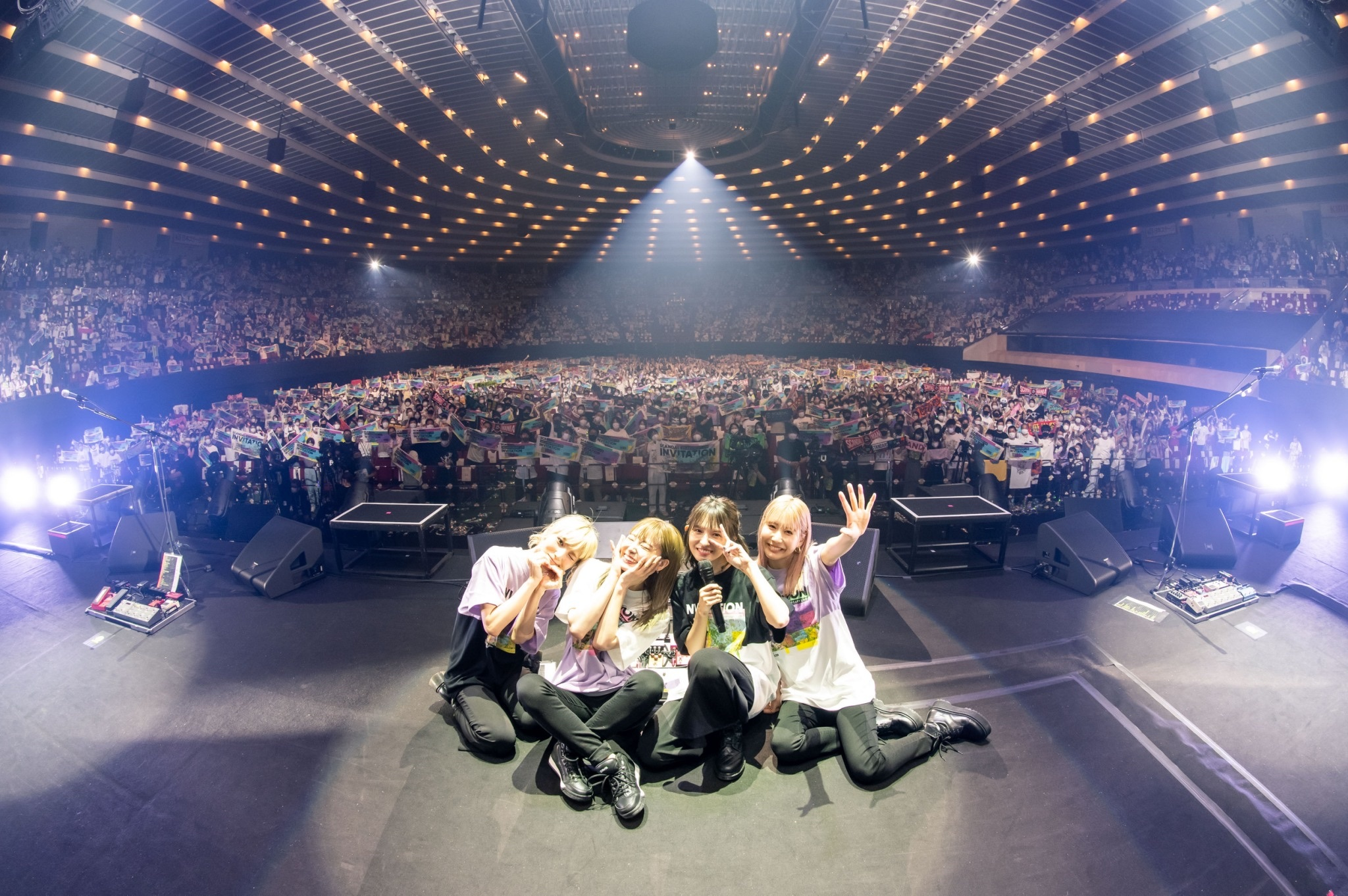SCANDAL célèbre son 15ème anniversaire au Osaka-Jo Hall, mettant en avant des morceaux récents comme anciens (Music Natalie)